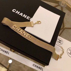 CHANEL NECKLACE CHOKER